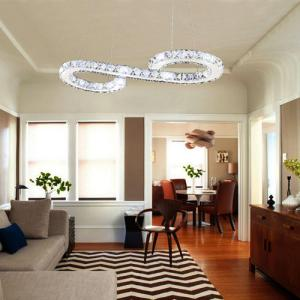 China Modern/Contemporary LED Ceiling Light Chandelier Flush Mount Pendant Lamp on sale