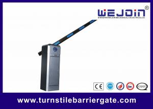 China 6 Meter Traffic Barrier Parking Gate Arms Car Management Systems 80W on sale