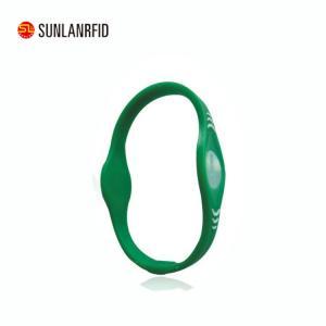 China Free Samples OEM Printing Waterproof HF wholesale rfid silicone wristbands on sale