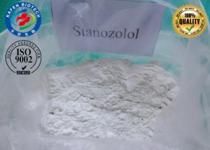 China Raw Winstrol Powder Oral Anabolic Steroids Hormone Stanozolol / Winstrol / Winny Depot on sale