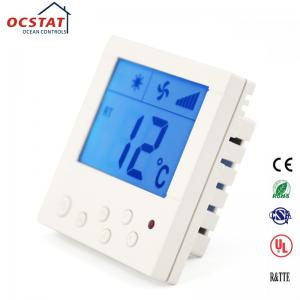China FCU Digital Temperature Control Heating Fan Coil Room Thermostat with Remote Control on sale