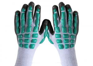 China Anti Vibration / Hitting Hand Protection Gloves , Shock Absorption Safety Hand Gloves on sale
