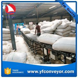 China Flexible Extendable Rubbered Roller Conveyor supplier