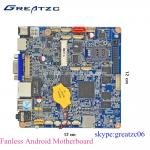 China Nano ITX Fanless Android CPU Onboard Motherboard With WIFI / Bluetooth wholesale