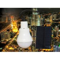High quality CE Certification Energy saving 5w solar LED bulb Solar Panel Charging Battery Led Bulb