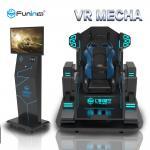 220V 0.7KW 9D  Virtual Reality Simulator Shooting Arcade Game Machine