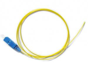 China 9/125um Type Single Mode Pigtail Fiber Optic Cable Good Exchangeability on sale
