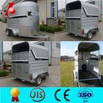 Horse trailer used with best price,straight load 2 horse float