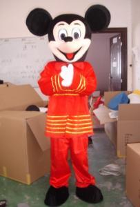 Quality Trajes hechos a mano de la mascota de Disney del ratón de mickey del Año Nuevo for sale