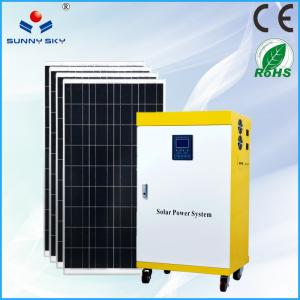 China solar air conditional 1kw residential solar power kit home solar power system solar generator on sale