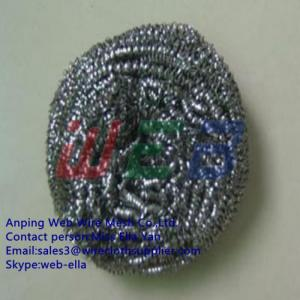 China Stainless steel flat wire for making cleaning ball on sale