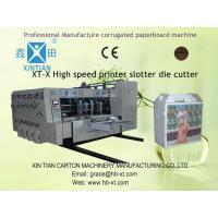 China Edge Feeding Rotary Die-Cutting Machine For Carton Flexo Printing on sale