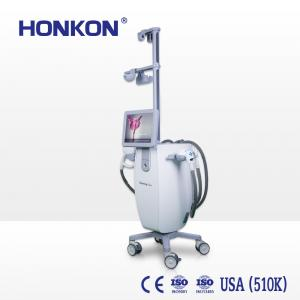 China HONKON Vacuum Roller Cellulite Reduction Weight Loss Slimming Machine , Lymphatic Drainage Far Infrared Beauty Device on sale