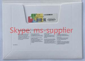 Quality Windows 10 Pro Italian OEM DVD + COA Brand New Key License Language FQC -08913 for sale