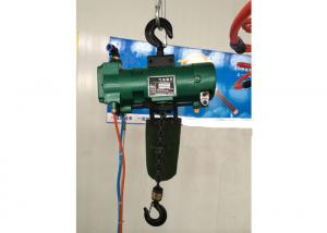 China Durable Green Steel 6 Ton Air Pneumatic Chain Hoist Explosion Proof on sale