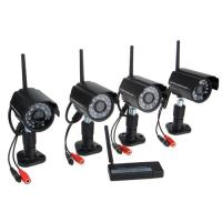 Surveillance Security 4 Channel 2.4g Digital Wireless Security Kit
