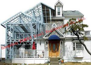 China Modern Steel Structure Light Steel Villa Heat Insulation House Quick Installation on sale