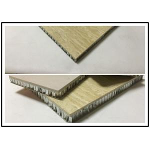 China Customized Shape Honeycomb Stone Cladding Panels 12mm - 25mm Thickness on sale
