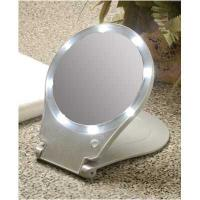 China PC-8593 Desktop Cosmetic mirror with led lights on sale