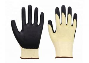 China Beautiful Breathable Cut Resistant Gloves , Foam Latex Puncture Proof Work Gloves on sale
