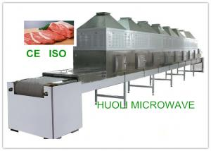 China Continuous Belt Type Frozen Food Thawing Machine , Microwave Thawing Equipment on sale