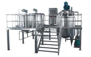 China 30L Pharmaceutical Processing Machines Vacuum Emulsifying Machine on sale