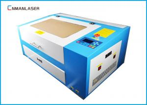 China 60W Mini Cnc Laser Engraving Cutting Machine For Photo Frame Dust Free on sale
