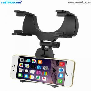 China Car Mount Holder Car Rearview Mirror Mount Truck Auto Bracket Holder Cradle for iPhone X 8 8 plus Samsung GPS PDA MP3 MP on sale
