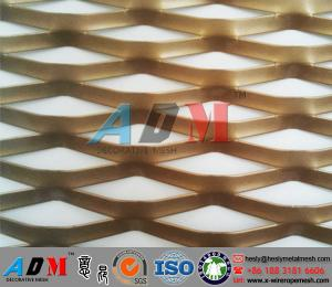 China Architectural Expanded Metal, Decorative Expanded Metal Mesh, Expanded Metal Facades on sale