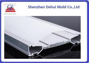 China Personalize o difusor plástico da luz da extrusão do policarbonato de Satine dos perfis da extrusão on sale