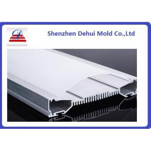 China Adaptez le diffuseur en plastique de lumière d'extrusion de polycarbonate de Satine de profils d'extrusion on sale