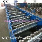 Rollo de alta calidad del piso de la cubierta 2014 que forma la máquina
