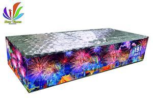 China Fan Shape 197 Shots Compound Consumer Cake Fireworks on sale