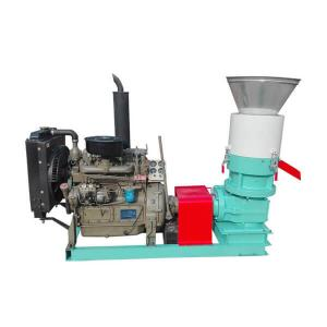 China AMSP 400D Flat Die Pellet Mill for Home Use & Industrial Pellet Business on sale