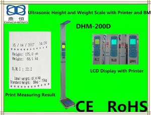 China DHM-200D Human weight measurment scale /height measuring stand with weighing scale on sale