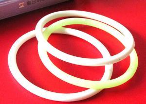 China Diameter Line Shape Custom Silicone Bracelets , Inspirational Rubber Bracelets Elegant Design on sale