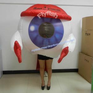 China inflatable eyeball costume on sale
