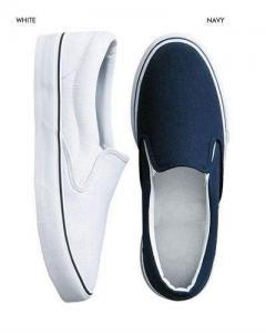 China Men Vulcanized Rubber Slip-on Shoes on sale