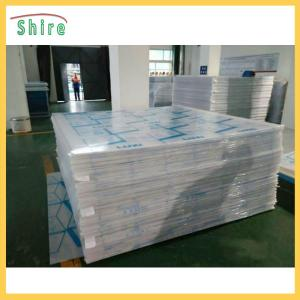 China Polycarbonate Sheet Plastic Protection Film Hot Temperature Endurable on sale