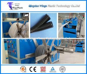 China La PA de PVC de PE de pp à grande vitesse a ridé le fabricant de machines de tuyau de conduit on sale