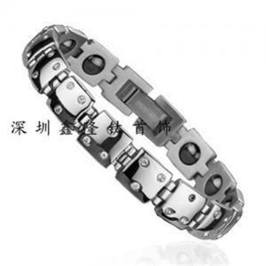 China Titanium&steel bracelet on sale