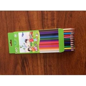 China 12-piece 3.5-inch Eco Friendly Plastic  Mini Coloring Pencils on sale