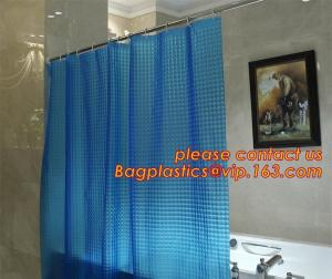 China Eco-friendly Full Printed PEVA bath Shower Curtains, butterflies PEVA shower curtain, Printed shower curtain liners,PEVA on sale