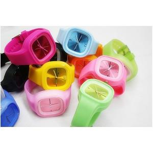 China Colorful Practical Waterproof Silicon Jelly Watch on sale