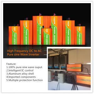 China Good quality pure wave dc to ac solar inverter 300w 500w 1000w 2000w 3000w on sale