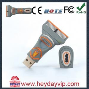 China L'usb de coutume de PVC d'OEM conduit 8GB pour le fournisseur de porcelaine de cadeau on sale