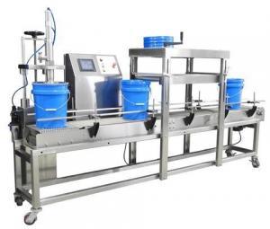 China PLC Control Semi Automatic Filling Machine / Large Cosmetic Filling Machine on sale