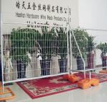 Used cheap welded iron wire mesh temporary fence system in standard size