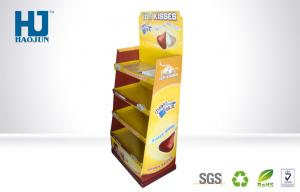 China Recylable Full Color Print Cardboard Display Stand for Chocolate / Candy on sale
