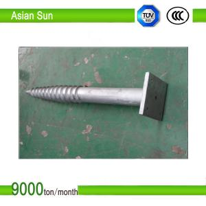 China Galvanized Steel Ground Screw for solar mounting system on sale